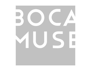 Logo for Boca Museum of Art
