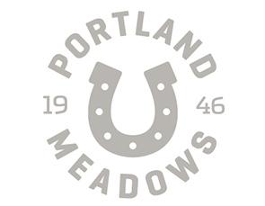 Logo for Portland Meadows horse racing track