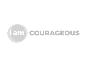 i am courageous logo